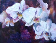 Orchids in the Moonlight Acrylic 11x14