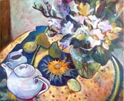 Still Life Spring Acrylic 30x40