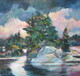 After the Storm: Stoney Lake, Acrylic 24x24